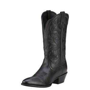 ARIAT Heritage R Toe Western Boot Cowboy black 9